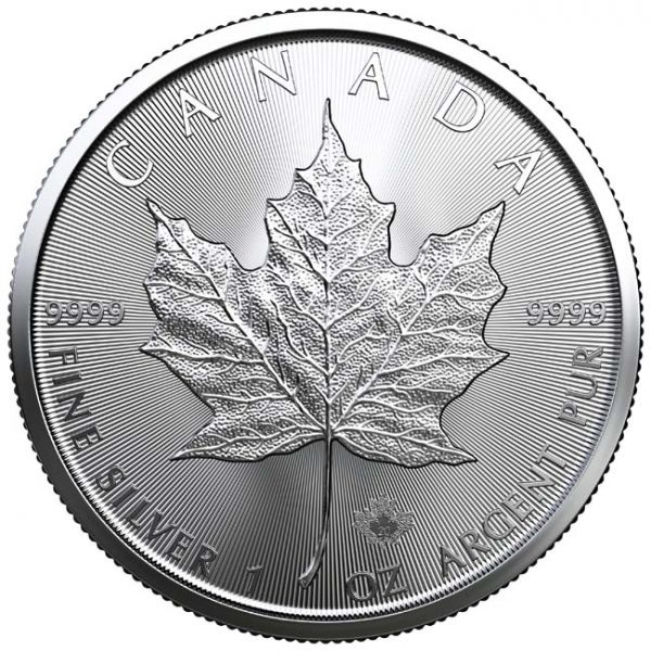 MAPLE LEAF 1 UNCA SILVER